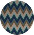 rug #691113 | round art deco rug