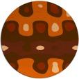 rug #701901 | round art deco rug