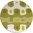 rug #701917 | round art deco rug