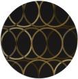 rug #707037 | round art deco rug
