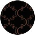 rug #743897 | round art deco rug
