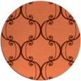 rug #744081 | round art deco rug