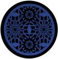 rug #844991   round art deco rug