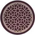 rug #855067   round art deco rug