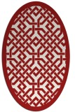 rug #885716 | oval rug