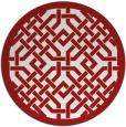 rug #886420 | round rug