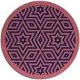 rug #918141   round art deco rug